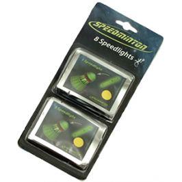 Svietiace tyčinky Speedminton Speedlights - 8 ks