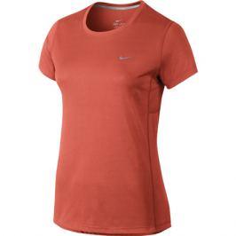 Dámske tričko Nike Miler Dry Running Orange