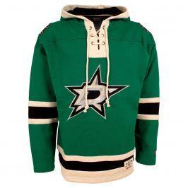 Pánska mikina s kapucňou Old Time Hockey Lacer Fleece NHL Dallas Stars
