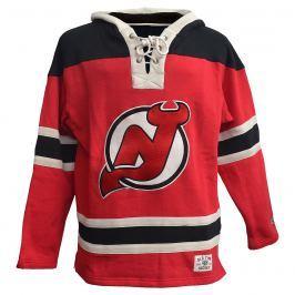 Pánska mikina s kapucňou Old Time Hockey Lacer Fleece NHL New Jersey Devils