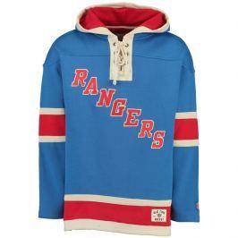 Pánska mikina s kapucňou Old Time Hockey Lacer Fleece NHL New York Rangers
