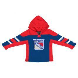 Detská mikina s kapucňou Old Time Hockey Drift NHL New York Rangers