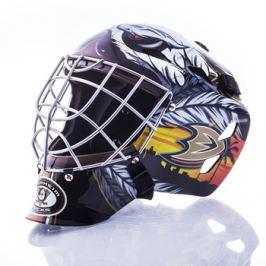 Mini brankárska prilba Franklin NHL Anaheim Ducks