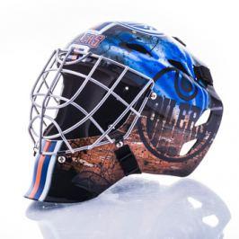 Mini brankárska prilba Franklin NHL Edmonton Oilers