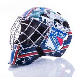Mini brankárska prilba Franklin NHL New York Rangers