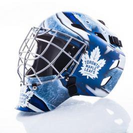 Mini brankárska prilba Franklin NHL Toronto Maple Leafs