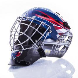Mini brankárska prilba Franklin NHL Washington Capitals
