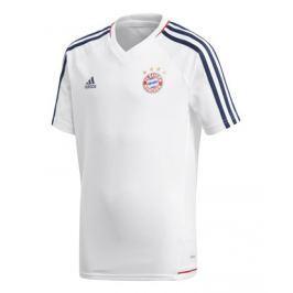 Detský dres adidas Authentic FC Bayern Mníchov tréningový 17/18 biely