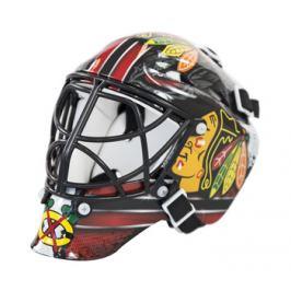Mini brankárska prilba Franklin NHL Chicago Blackhawks