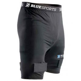 Šortky so suspenzorom Blue Sports Classic Compression Short SR