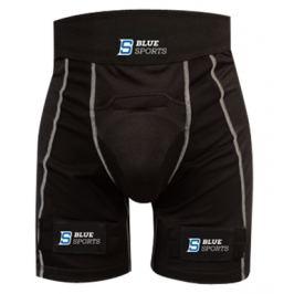 Šortky so suspenzorom Blue Sports Pro Velcro Compression SR