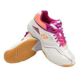 Dámska halová obuv Yonex Power Cushion 36 White/Pink