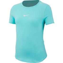 Dievčenské tričko Nike Court Dri-FIT Top Light Aqua