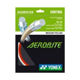 Bedmintonový výplet Yonex Aerobite White/Red