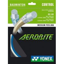 Bedmintonový výplet Yonex Aerobite White/Blue