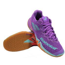 Dámska halová obuv Babolat Shadow Tour Purple/Blue/Red