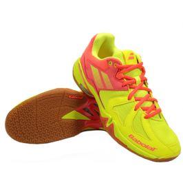 Dámska halová obuv Babolat Shadow Spirit Yellow/Red