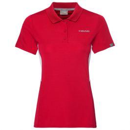 Dievčenské tričko Head Club Tech Polo Red