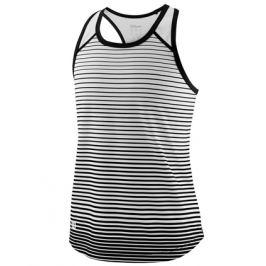 Dievčenské tielko Wilson Team Striped Black/White