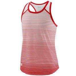 Dievčenské tielko Wilson Team Striped Red/White