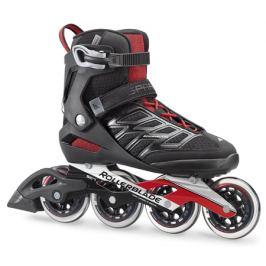 TESTOVACIE KOLIESKOVÉ KORČULE Rollerblade Spark 90 Black/Red