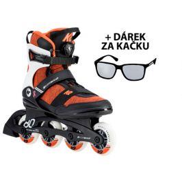 Kolieskové korčule K2 Alexis 80 Boa + DARČEK