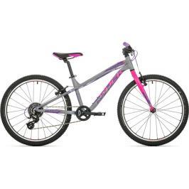 Detský bicykel Rock Machine 24 Thunder šedý