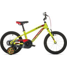 Detský bicykel Rock Machine 16 Blizz žltý