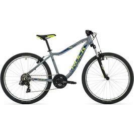 Detský bicykel Rock Machine 26 Storm sivý