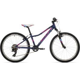 Detský bicykel Rock Machine 24 Catherine matný tmavomodrý