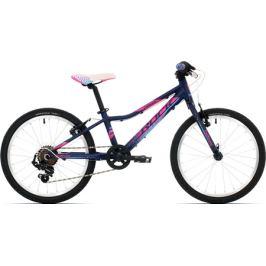 Detský bicykel Rock Machine 20 Catherine matný tmavomodrý
