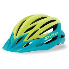 Cyklistická prilba GIRO Artex MIPS matná modro-limetková