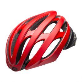 Cyklistická prilba BELL Stratus matná červeno-čierna