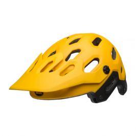 Cyklistická prilba BELL Super 3 matná žltá