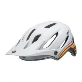 Cyklistická prilba BELL 4Forty matná bielo-oranžová