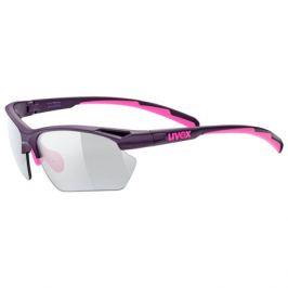 Cyklistické okuliare Uvex Sportstyle 802 Small Vario fialovo-ružové