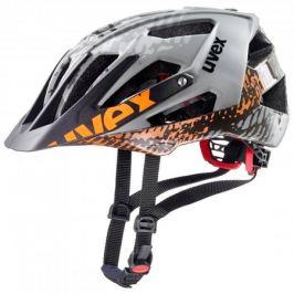 Cyklistická prilba Uvex Quatro matná šedá