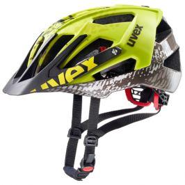Cyklistická prilba Uvex Quatro neónovo žltá