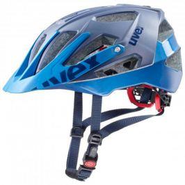 Cyklistická prilba Uvex Quatro modrá matná