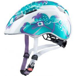 Detská cyklistická prilba Uvex Kid 2 modré jahody