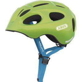 Detská cyklistická prilba ABUS Youn-I sparkling green