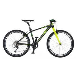 Detský bicykel 4EVER HOT SPEED 24 čierno-žltý