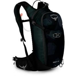 Cyklistický batoh Osprey Siskin 12 čierno-zelený