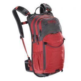 Cyklistický batoh EVOC STAGE 12l šedo-červený