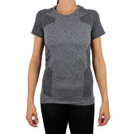 Dámske tričko Endurance Vanilla Melange Seamless Tee SS Black Melange