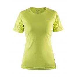 Dámske tričko Craft Prime žluto-zelené
