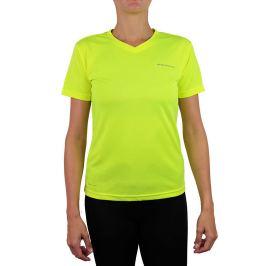 Dámske tričko Endurance Vista Performance neónovo žlté