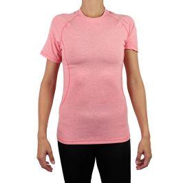 Dámske tričko Endurance Tearoa Wool SS růžovo-červené
