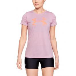 Dámske tričko Under Armour Tech SSC Graphic růžové