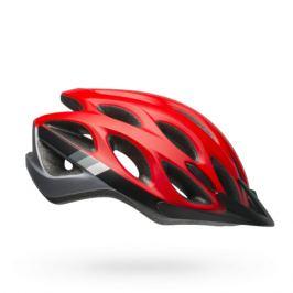Cyklistická prilba BELL Traverse matná červeno-čierna